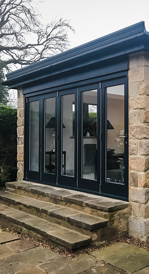 extension harrogate builders bifold doors