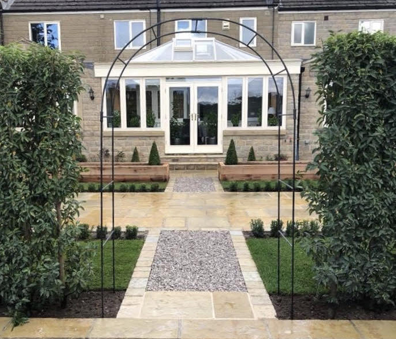 extension garden works builders harrogate